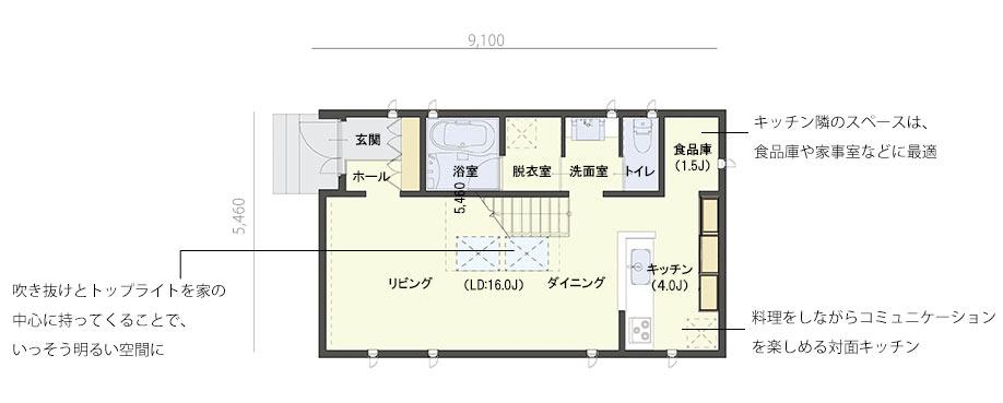 casa cube 3 x 5(1F)