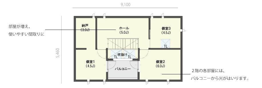 casa cube 3 x 5(2F)