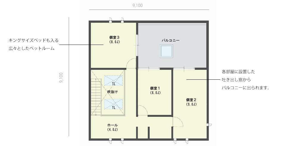 casa cube 5 x 5(2F)